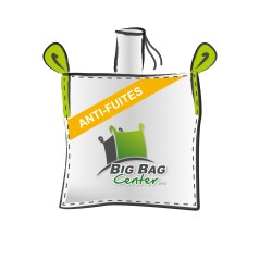 LOT de 10 BIGBAGS neuf 90x90x110, SWL: 1500 kg, GR+FP, anti-fuites