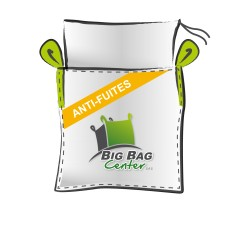 LOT de 10 BIGBAGS neuf 90x90x120, SWL: 1500 kg, JR+FP, anti-fuites