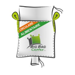 LOT de 10 BIGBAGS neuf 90x90x150, SWL: 1250 kg, JR+GV, alimentaire, circulaire