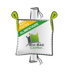 LOT de 10 BIGBAGS neuf 91x91x170, SWL: 1500 kg, GR+GV, anti-fuites, alimentaire