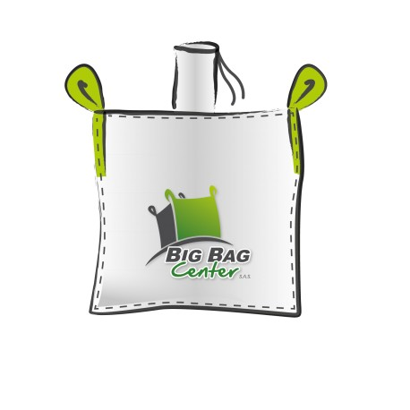 Lot 10 Big Bag neuf 100X100X170, SWL: 1250 kg, GR+FP