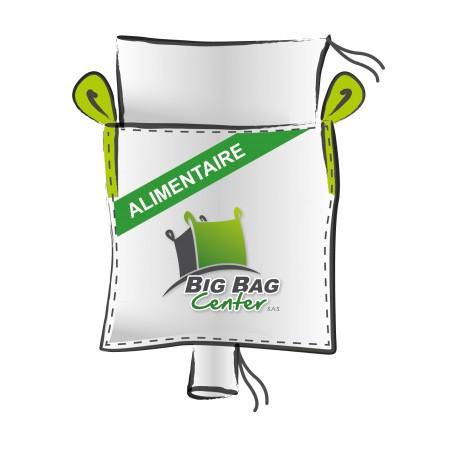 Lot 10 Big Bag neuf 91x91x180, SWL: 1500 kg, JR+GV, alimentaire