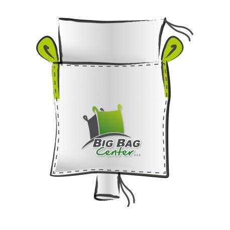 Lot 10 Big Bag neuf 90x90x200, SWL: 1250 kg, JR+GV